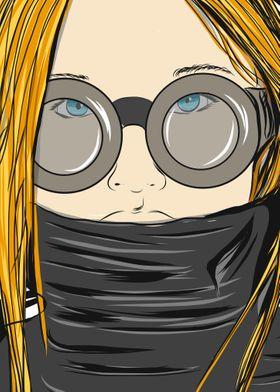 Bloondy bleu Eyes