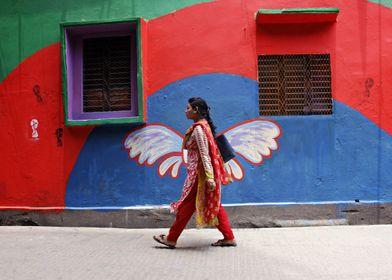 wings girl