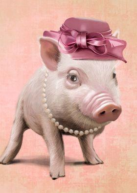 Miss Piggy portrait