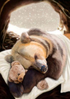 Sweet dreams, Mr Bear