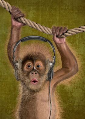 I love music (monkey)