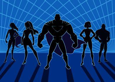 Super Heroes Team