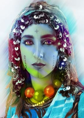 woman Amazigh Atlas morocc