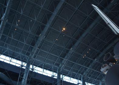 Space Shuttle Hangar Abstr