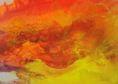 mancha naranja