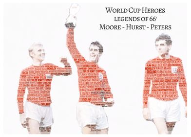 World Cup 66 Word Art