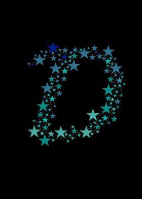 D - Blue Stars