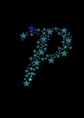 P - Blue Stars
