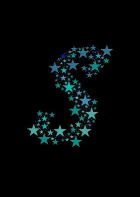 S - Blue Stars