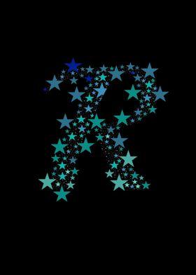 R - Blue Stars