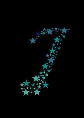 J - Blue Stars