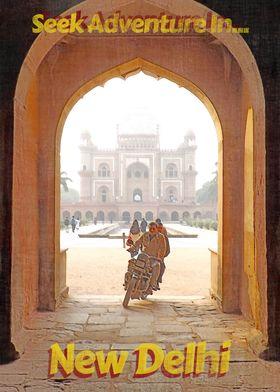 Adventure in New Delhi