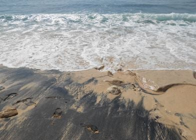 Wave and Sand