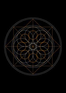 pointed circle