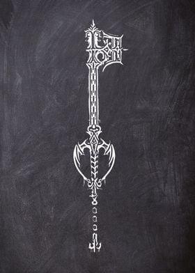 chalk key 9