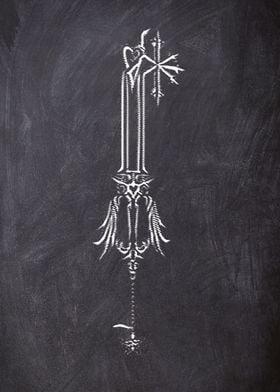 chalk key 8