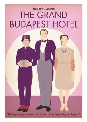 Grand Budapest- Minimalist