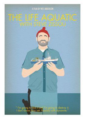 Life Aquatic- Minimalist