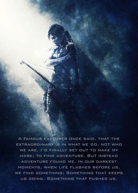 Tomb Raider / Tagline