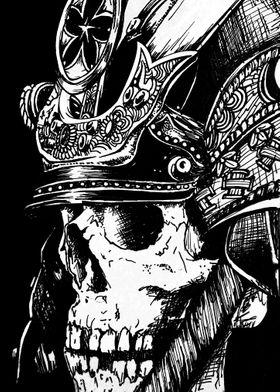 zamurai skull