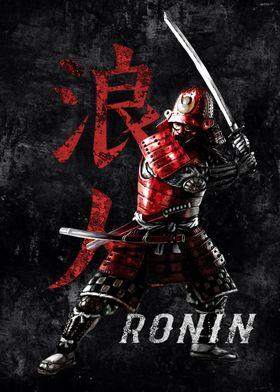 Samurai Ronin Warrior