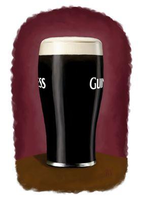 A pint of the black stuff