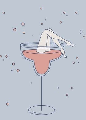 lets drink - cocktail