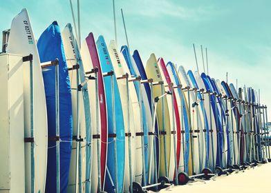 California surfboards