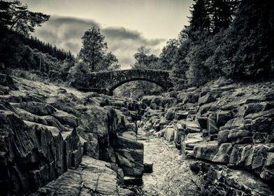 The bridge across