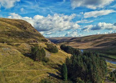 Claerwen Valley