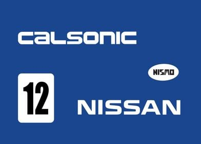 Calsonic R32 Livery