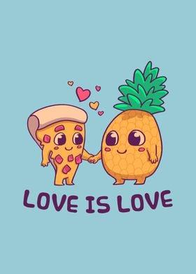 Pineapple Pizza Pride LGBT