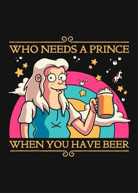 Beer Princess Bean Funny
