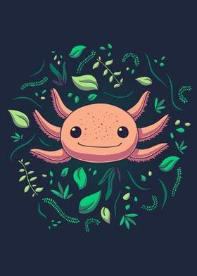 Axolotl Animal Cute Pet
