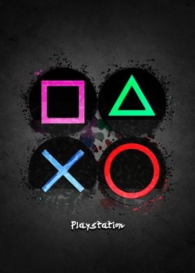 Playstation buttons