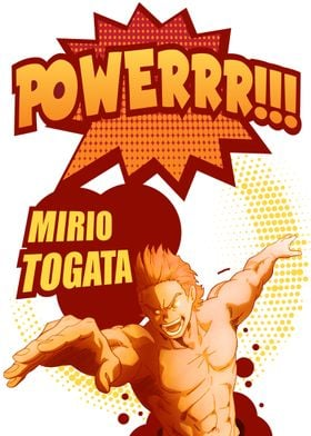 Mirio Togata  Power