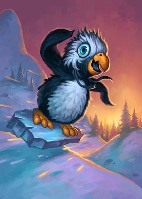 Snowflipper Penguin