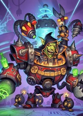 Dr. Boom, Mad Genius