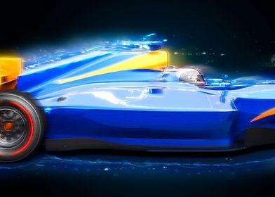 F1 bolide