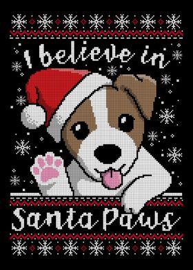 I believe in santa paws