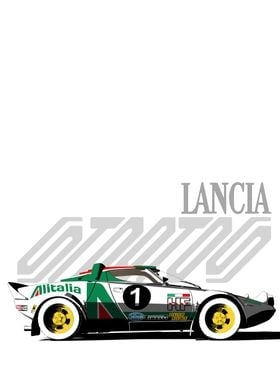 Lancia Stratos Profile