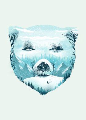 Snow Bear on Wild Winter