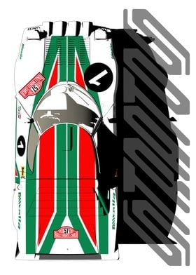 Lancia Stratos Top Profile