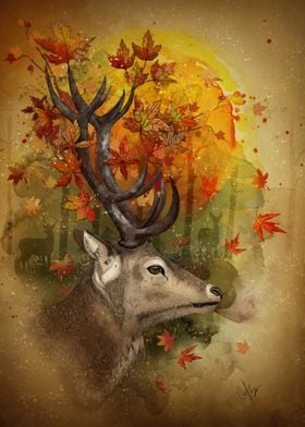 Oh Deer Autumn