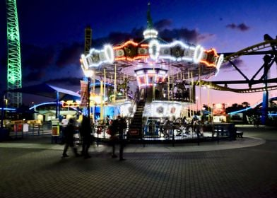 Fun Spot America  Carousel