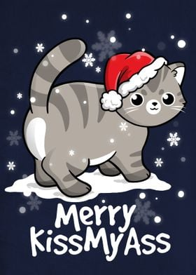 Merry kissmyass cat
