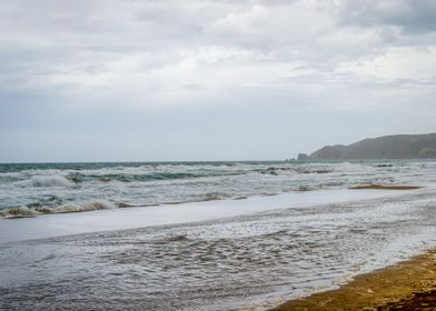 Saaidia Beach and waves