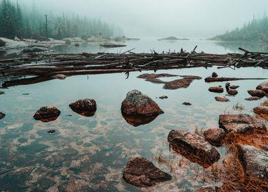 Foggy Mills Lake