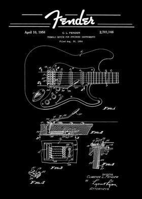 Fender  Tremolo Patent