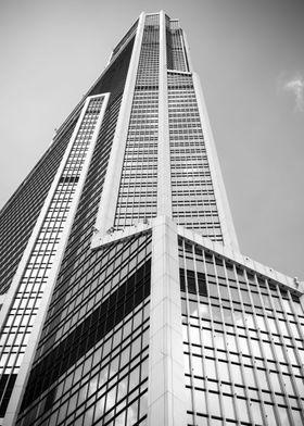 Mercury tower bw
